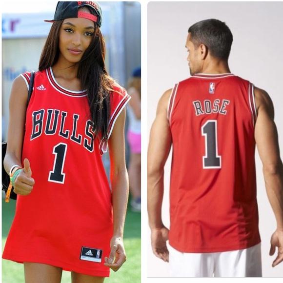 pretty nice aebd6 1c5b2 🌟NWOT🌟 NBA ADIDIAS chicago bulls jersey #1 ROSE